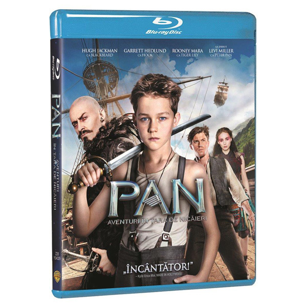 Pan - Aventuri in tara de nicaieri Blu-ray