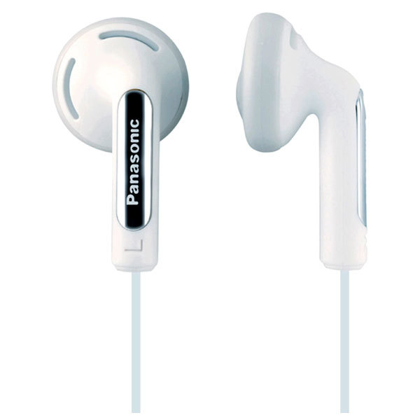 Casti PANASONIC RP-HJE125E-W, Cu Fir, In-Ear, alb