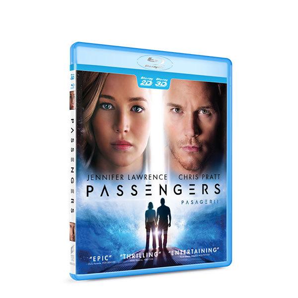 Pasagerii Blu-ray 2D+3D