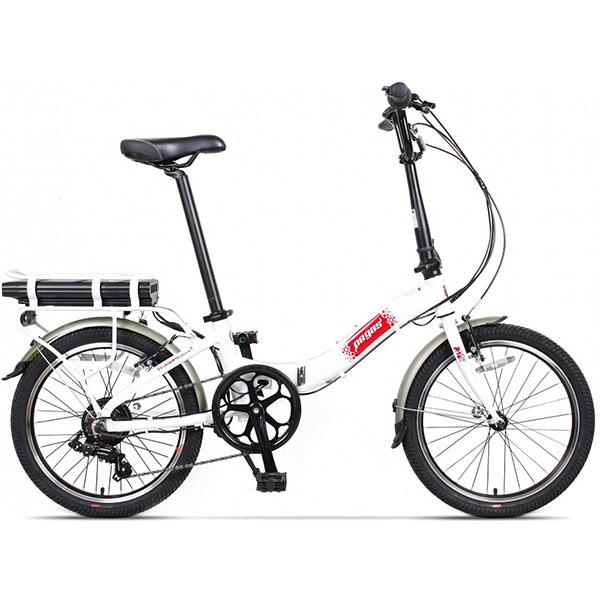 Bicicleta PEGAS Camping Dinamic E-Bike, Pliabila, alb
