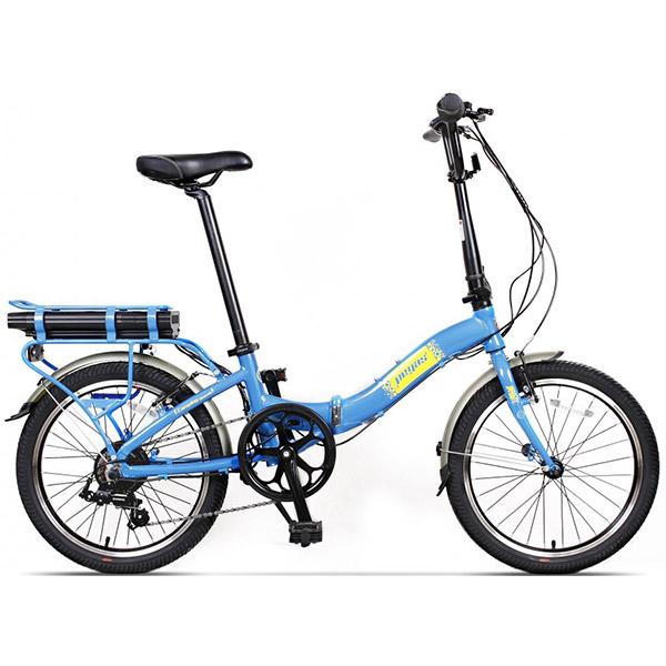 Bicicleta PEGAS Camping Dinamic E-Bike, Pliabila, Albastru