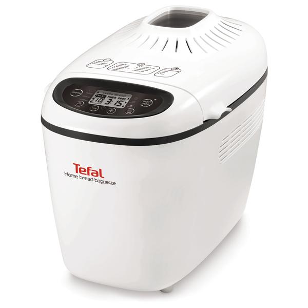 Masina de copt paine TEFAL PF610138, 1.5kg, 16 programe, 1600W, alb