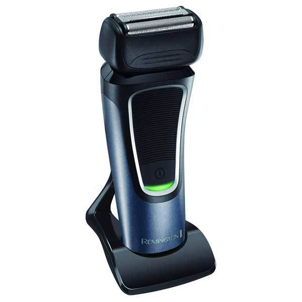 Aparat de ras REMINGTON PF7500 Comfort Series Pro, acumulator Litiu, 50 min autonomie, negru-albastru