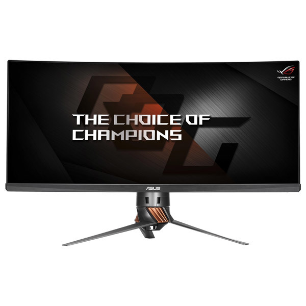 "Monitor LED IPS Gaming ASUS ROG Swift PG348Q, 34"" Curved, QHD, titanium"