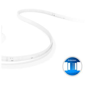 Philips Hue LightStrips extensie, Banda LED inteligenta WiFi, lumina LED RGB, 1m