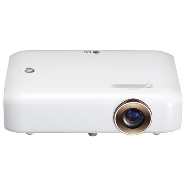 Videoproiector LG Minibeam PH550G, HD 720p, alb