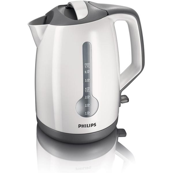 Fierbator de apa PHILIPS HD4649/00,1.7l, 2400W, alb - gri
