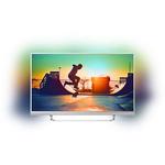 Televizor LED Smart Ultra HD, Android, Ambilight, 124cm, PHILIPS 49PUS6482/12
