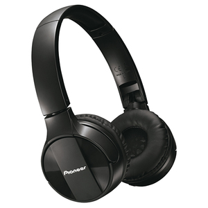 Casti PIONEER SE-MJ553BT-K, Bluetooth, On-Ear, Microfon, negru