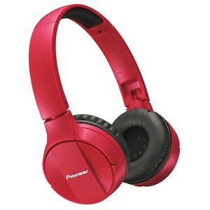 Casti PIONEER SE-MJ553BT-R, microfon, on ear, bluetooth, rosu