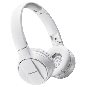 Casti PIONEER SE-MJ553BT-W, Bluetooth, On-Ear, Microfon, alb
