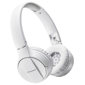 Casti PIONEER SE-MJ553BT-W, microfon, on ear, bluetooth, alb