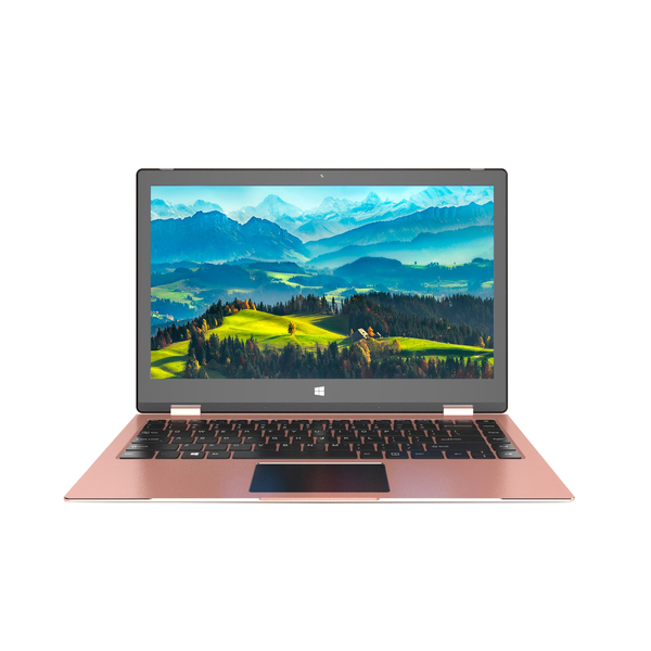 "Laptop 2 in 1 MYRIA MY8312PK, Intel Pentium N4200 pana la 2.5GHz, 13.3"" Touch, 4GB, SSD 256GB, Intel® HD Graphics, Free Dos"