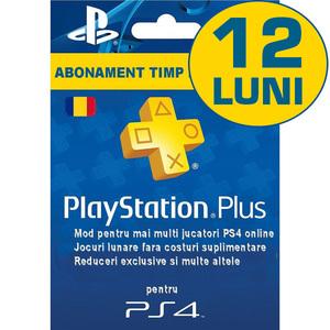 PlayStation Plus Membership (365 de zile) RO PS4