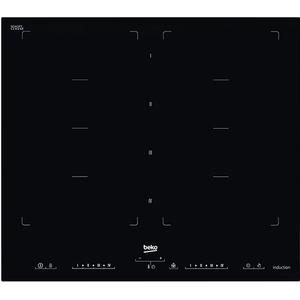 Plita incorporabila BEKO HII68600PT, inductie, 8 arzatoare, Touch Control, negru