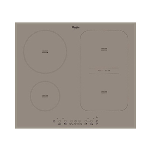 Plita incorporabila WHIRLPOOL ACM 808 BA/S, inductie, sticla vitroceramica,  4 zone de gatit, 7200W, gri