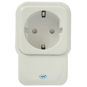Priza inteligenta PNI SmartHome SM440 ON / OFF la orice dispozitiv electric prin internet, alb