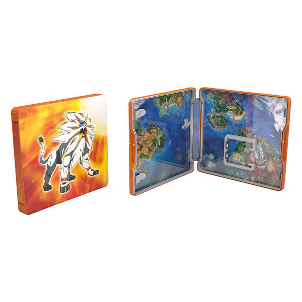 Pokemon Sun Steel Book 3DS