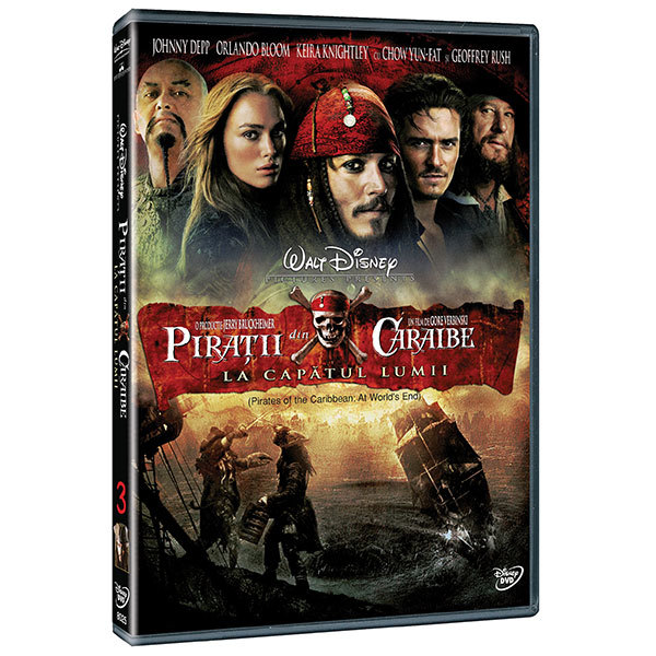Piratii din Caraibe 3: La capatul lumii DVD