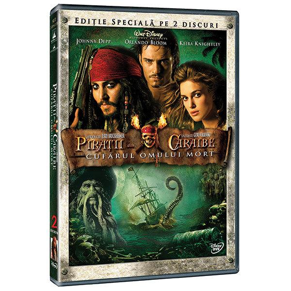Piratii din Caraibe 2: Cufarul omului mort DVD