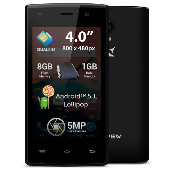 Telefon ALLVIEW A5 Ready 8GB DUAL SIM Black