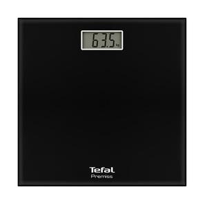 Cantar de persoane TEFAL Premiss PP1060V0, electronic, 150kg, negru