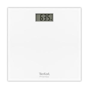Cantar de persoane TEFAL Premiss PP1061V0, electronic, 150kg, alb
