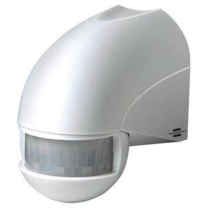 Detector de miscare cu infrarosu BRENNENSTUHL 143941 PIR 180, alb