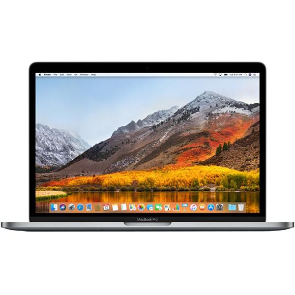 "Laptop APPLE MacBook Pro 13"" Retina Display si Touch Bar mr9r2ze/a, Intel Core i5 pana la 3.8GHz, 8GB, 512GB, Intel Iris Plus Graphics 655, macOS Sierra, Space Gray - Tastatura layout INT"