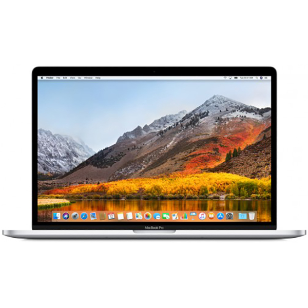 """Laptop APPLE MacBook Pro 15"""" Retina Display si Touch Bar mr962ze/a, Intel Core i7 pana la 4.1GHz, 16GB, 256GB, AMD Radeon Pro 555X 4GB, macOS Sierra, Argintiu - Tastatura layout INT"""