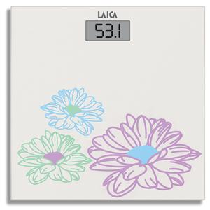 Cantar de persoane LAICA PS1052, electronic, sticla, 180kg, alb