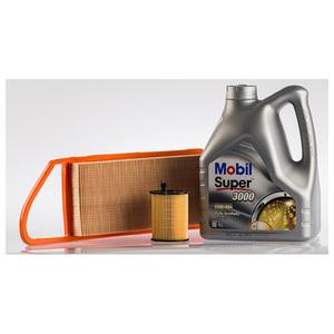 Pachet schimb ulei MOBIL pentru Citroen C3 1.4Hdi, diesel