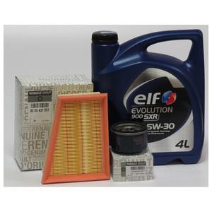 Pachet schimb ulei ELF Premium pentru Renault Clio II, 1.4 16V, benzina