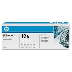 Toner HP 12A (Q2612A), negru