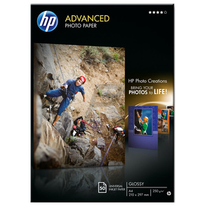 Hartie foto HP Advanced Q8698A, 210 x 297mm, 50 coli