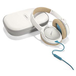 Casti on-ear cu microfon BOSE Quiet Comfort 25, Apple/Android, alb
