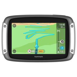 Sistem de navigatie GPS pentru motocicleta TOMTOM Full EU LT, Touchscreen 4.3 inch, 16Gb, microSD