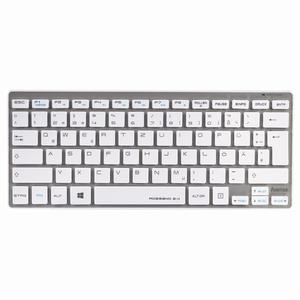 Tastatura Wireless HAMA Rossano 2.4, USB, Alb-argintiu