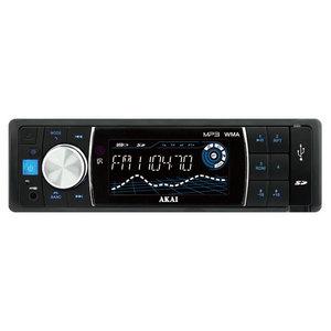 Radio MP3 auto AKAI STC-7006U, 4x25W, USB, Card Reader, iluminare albastru