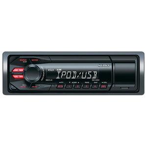 Radio MP3 auto SONY DSX-A40, 4x55W, USB, iluminare rosu