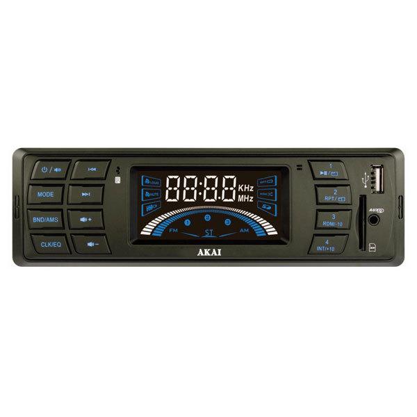 Radio MP3 auto AKAI STC-1606U, 4x7W, USB, Card Reader, iluminare albastru
