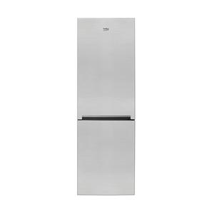 Combina frigorifica BEKO RCSA365K20XP, 346 l, H 185.3 cm, Clasa A+, argintiu