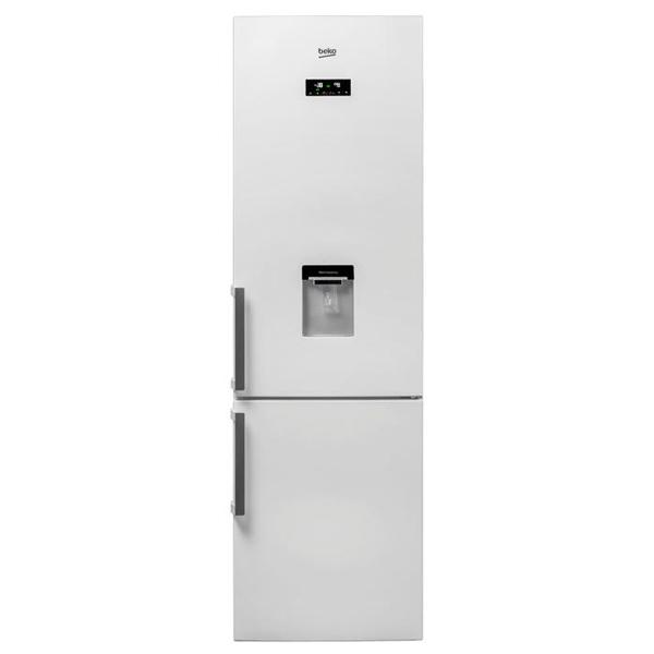 Combina frigorifica BEKO RCNA400E21DZW, NeoFrost, 344 l, H 201 cm, Clasa A+, dozator apa, alb