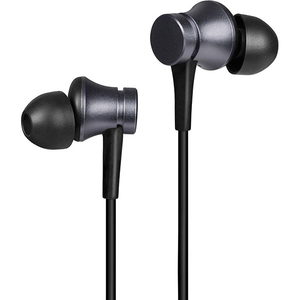 Casti XIAOMI Mi Basic ZBW4441GL, Cu Fir, In-Ear, Microfon, negru