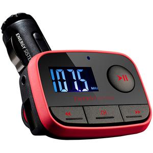 Modulator FM ENERGY SISTEM CAR MP3 F2, SD, USB, rosu