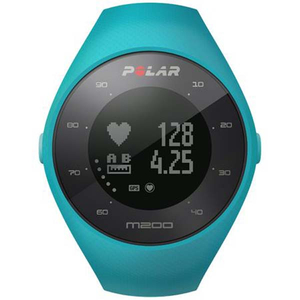 Smartwatch POLAR M200 Android/iOS, silicon, Medium/Large, Blue