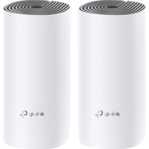 Sistem Wireless Mesh TP-LINK Deco E4, Dual Band 300 + 867 Mbps, 2 buc, alb