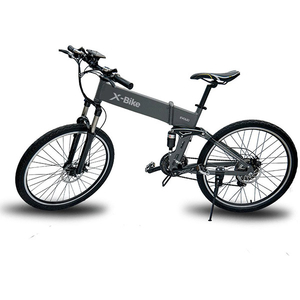 Bicicleta Mountain Bike electrica EVOLIO X-BIKE, Pliabila, 26 inch, gri