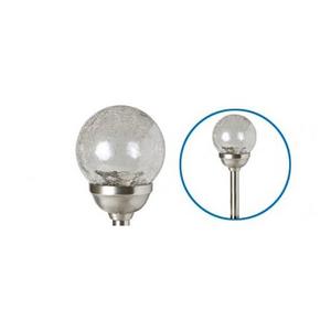 Lampa solara de gradina HOME MX 826, 1.2V, 600mAh, argintiu