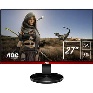 "Monitor LED AOC G2790PX, 27"" Full HD, 1920x1080, 144Hz, negru-rosu"